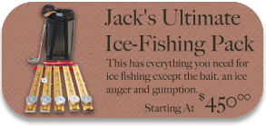 Ice Fishing Pack