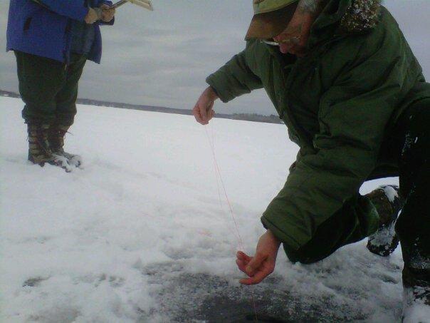Long lake photos hardwater blog jack traps ice fishing for Ice fishing traps