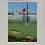 Ed Murdock Ice Fishing Prints Jack Traps Ice Fishing
