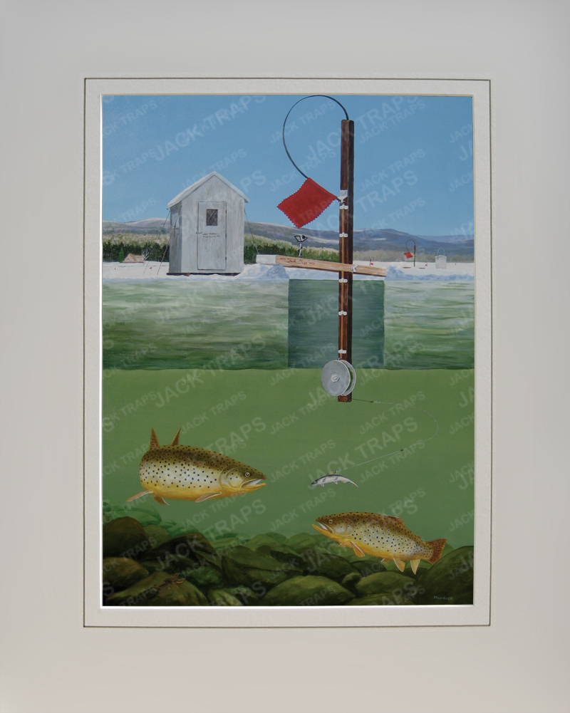 Fishing in maine lobster house for Maine ice fishing laws