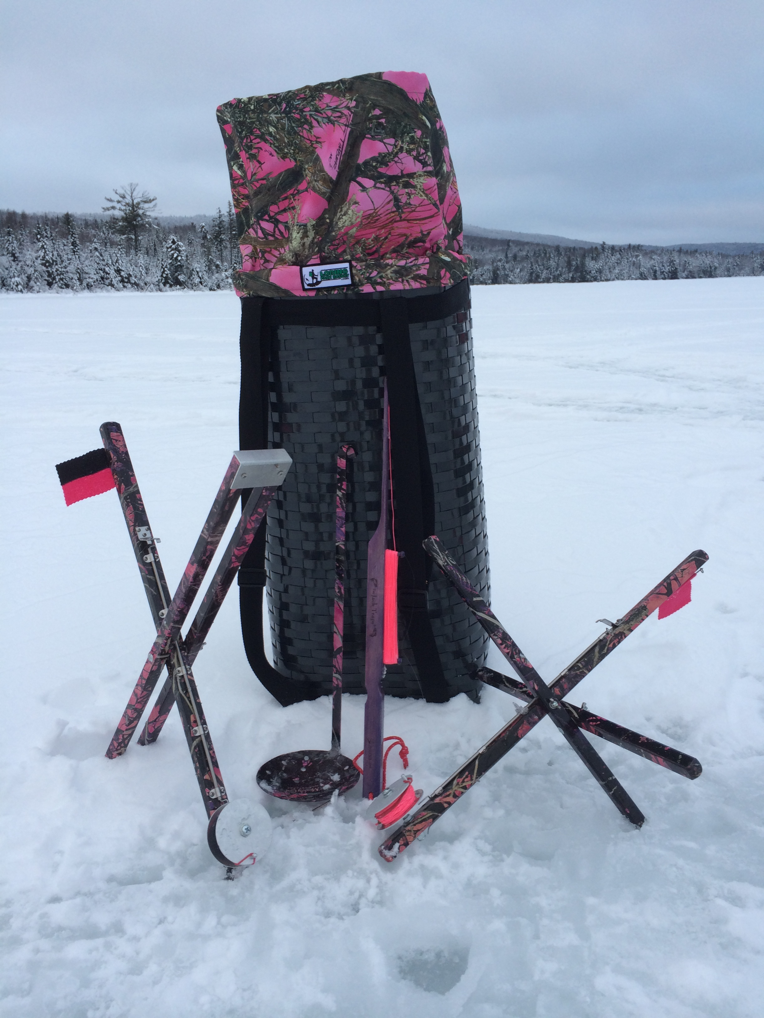 Ice fishing supplies for Ice fishing stuff