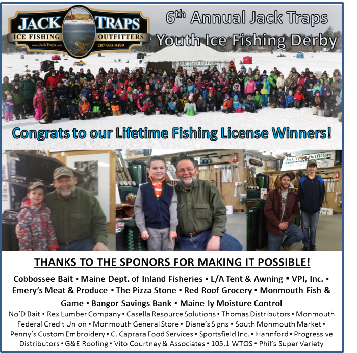 Blog jack traps ice fishing traps and tip ups made in for Fishing license near me